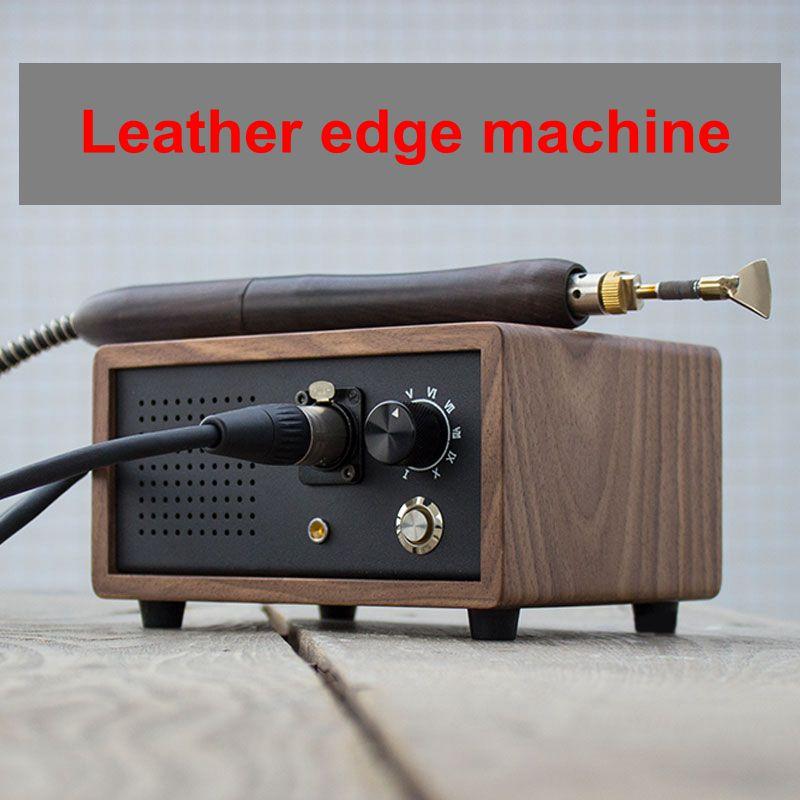 Máquina de Aquecimento de Couro Máquina de Engomar Couro Artesanato Elétrica Vincando Afiação Punho Creaser Edger Crimper Ferramenta 100-240v