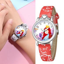 Child Fashion Wristwatches Time Clock Gift Orologio Per Bambini Children Quartz Watches Leather Band