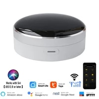 Tuya     telecommande universelle IR pour maison connectee  wi-fi   controle a infrarouge  Hub a 360 degres pour Google Assistant Alexa Siri