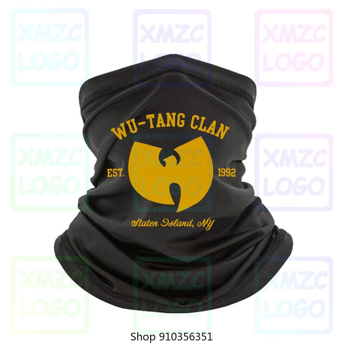 Wu Tang Clan t-shirt t-shirt Hip Hop Mc Rza Gza Odb méthode homme Raekwon Rap hommes bandeau écharpe Bandana cou plus chaud femmes hommes
