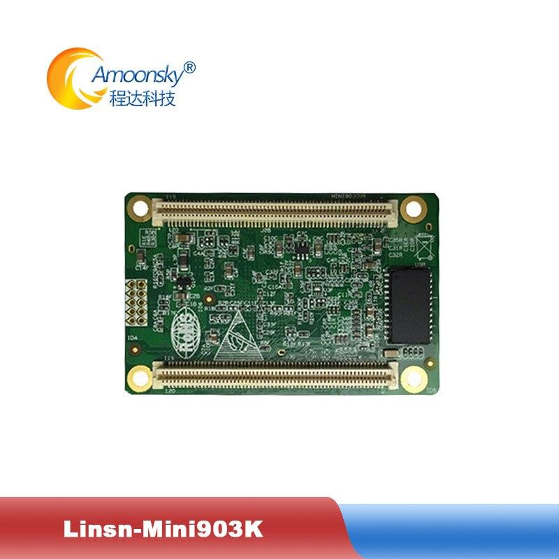 Suporte de Monitoramento de Temperatura e Umidade Grupos de Saída de Sinal Fábrica Original Linsn Receber Cartão 32 Rgb Mini903k