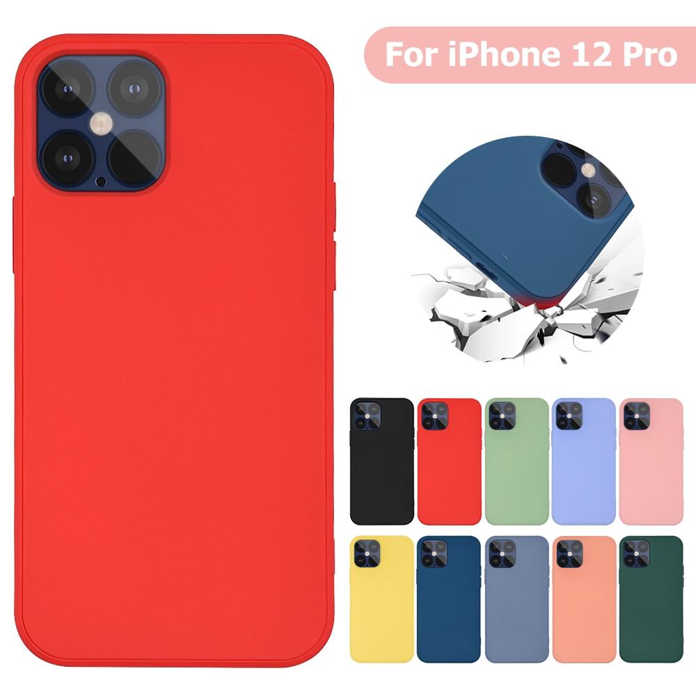 aliexpress.com - Imitation Original Liquid Silicone Cover For iPhone 12 12 Pro Cover Case For iPhone 12 Max 12 Pro Max Liquid Silicone Phone Case