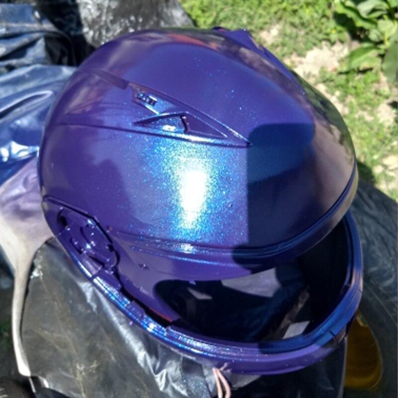 50g Chameleon Pigment Rainbow Powder for Automotive Crafts Decoration Nail Art Glitters Kit Manicure Tips YB84 Chameleon Powder enlarge