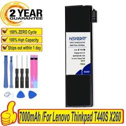 Marca Top 100% Nova Bateria para Lenovo Thinkpad X270 X260 X240 X240S X250 T450 T470P T450S T440S K2450 W550S 45N1136 45N1738 68 +