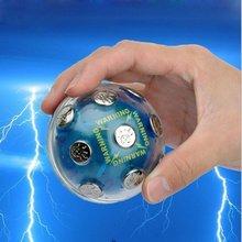 Boîtier en plastique neutre de boule de choc de divertissement avec des Contacts en métal