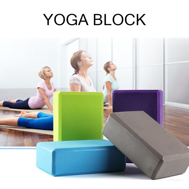 Оборудование для фитнеса, оборудование для йоги, цветные поролоновые кирпичи, упражнения, бодибилдинг, бодибилдинг, внутренние виды спорта