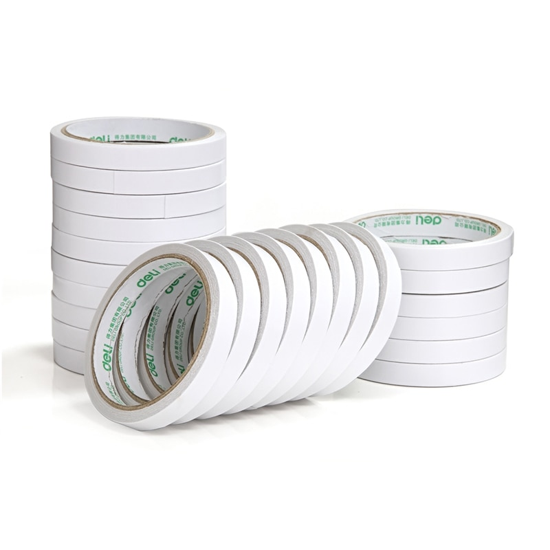 8 medidor/rolo forte dupla face fita adesiva papel de espuma de alta resistência ultrafinos escritório fita adesiva traceless etiqueta venda quente