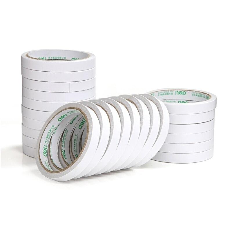 Cinta adhesiva de doble cara fuerte de 8 metros/rollo, papel de espuma de alta resistencia, cinta adhesiva ultra delgada de oficina, pegatina sin traza, gran oferta