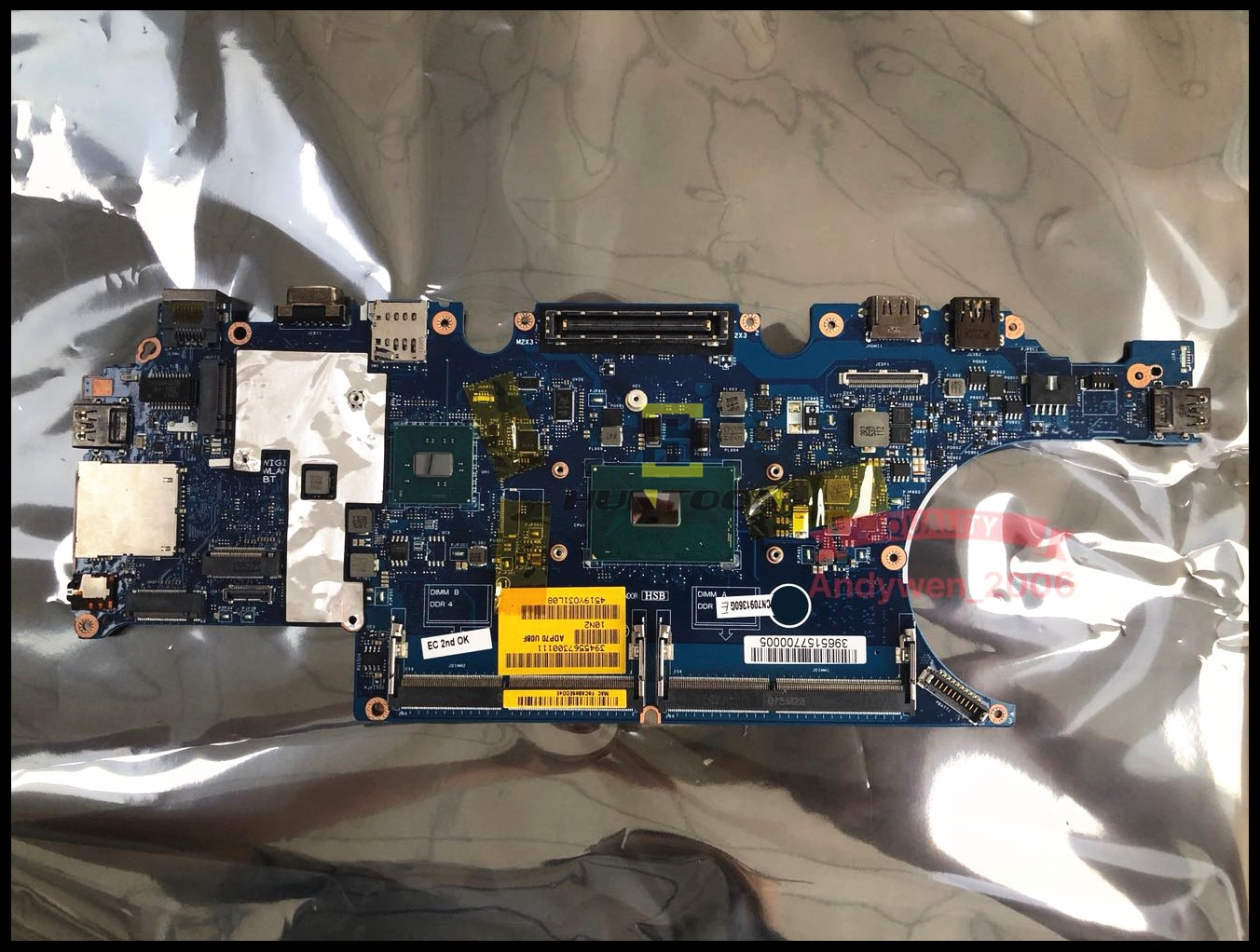 Alta calidad ADP70 LA-C831P para Dell Latitude E5470 5470 portátil placa base CN-0476JC I7-6820HQ DDR4 100% probado completamente