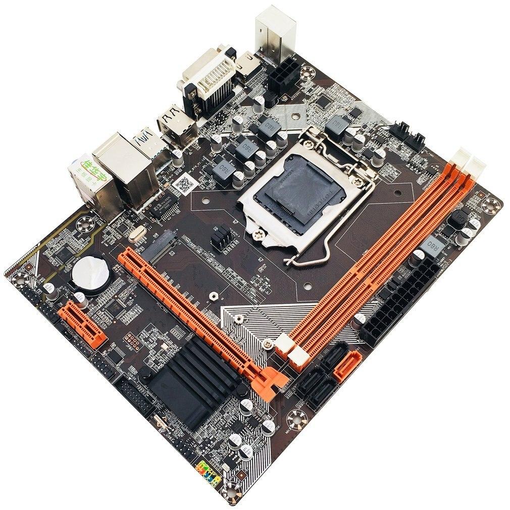 B75 placa base de escritorio M.2 LGA 1155 para i3 i5 i7 CPU soporte de memoria ddr3