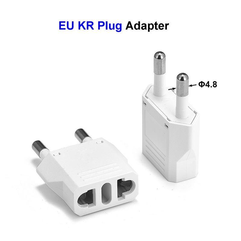 EU Euro KR Plug Adapter China US to EU European Travel Adapter Electric EU Plug Adapter Converter Power Sockets AC Outlet