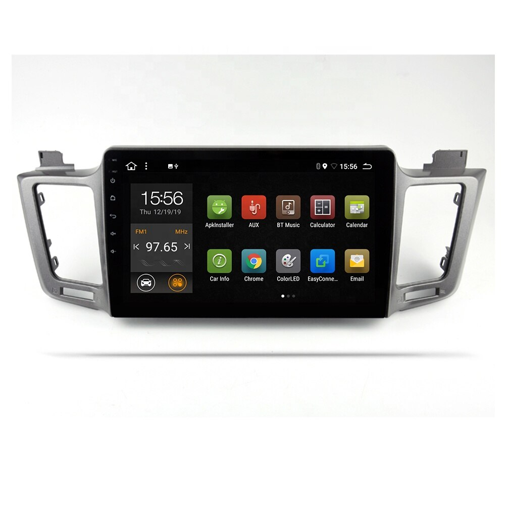 MCX 10.1 inch Android 10.0 car DVD multimedia player for Toyota RAV4 2013-2016 PX6 with WIFI GPS radio quad core touch screen enlarge