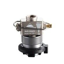 Aluminum Alloy Gas Stove Propane Refill Adapter Gas Burner Filling Butane Converter For Camping Hiking BBQ Picnic
