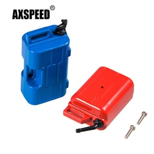 AXSPEED 1 Set Mini Fuel Tank Water Jug Decoration Tools for Axial SCX10 D90 TRX-4 1:10 RC RC Crawler Car Accessories