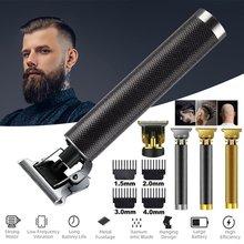 Electric Hair Clipper Hair Trimmer Grooming Kits For Men Hair Cut Rechargeable Razor Shaver Beard Ba