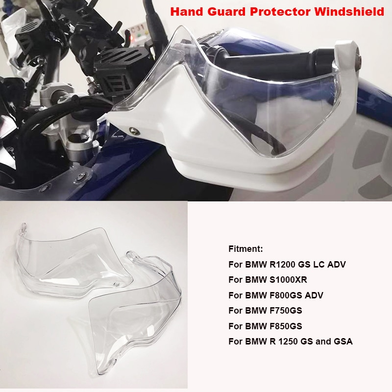 Для BMW R 1250 GS GSA 2018 2019 R1200 GS LC F800GS Adv S1000 XR 2013-2019 Handguard Hand Guard Extensions Protector лобовое стекло