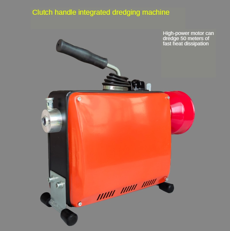 2200W 150A automatic electric pipe dredging machine sewer dredger toilet floor drain dredging cleaning machine