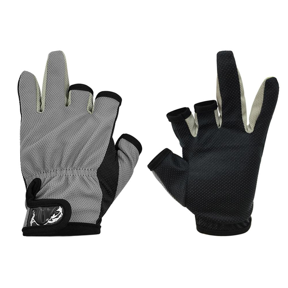 1 par de guantes portátiles de pesca transpirables antideslizantes para deportes al aire libre, guantes portátiles para pesca MTB, accesorios para bicicletas