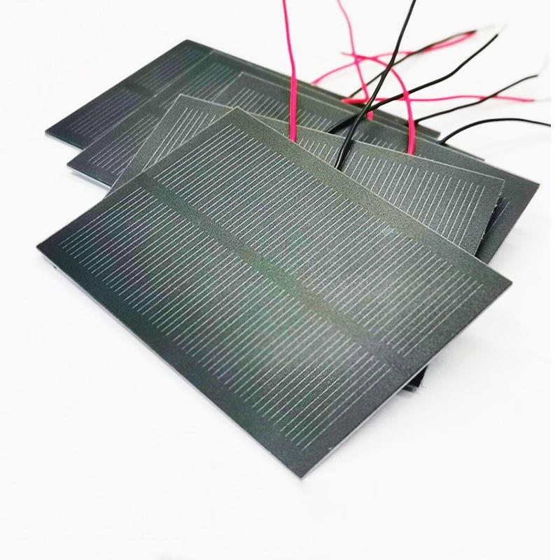 5pcs Solar Panel Mini Solar Power Size 84x61mm Output Current 80-110mA Solar Energy Generation For DIY Small Make Manual E11955