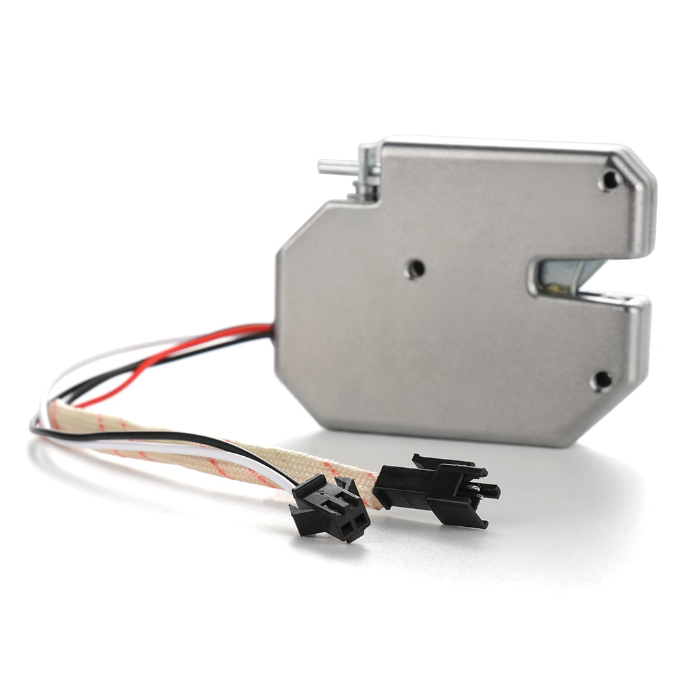 D-C 12V Mini cerradura eléctrica cerradura inteligente armario caja antirrobo cerradura Universal