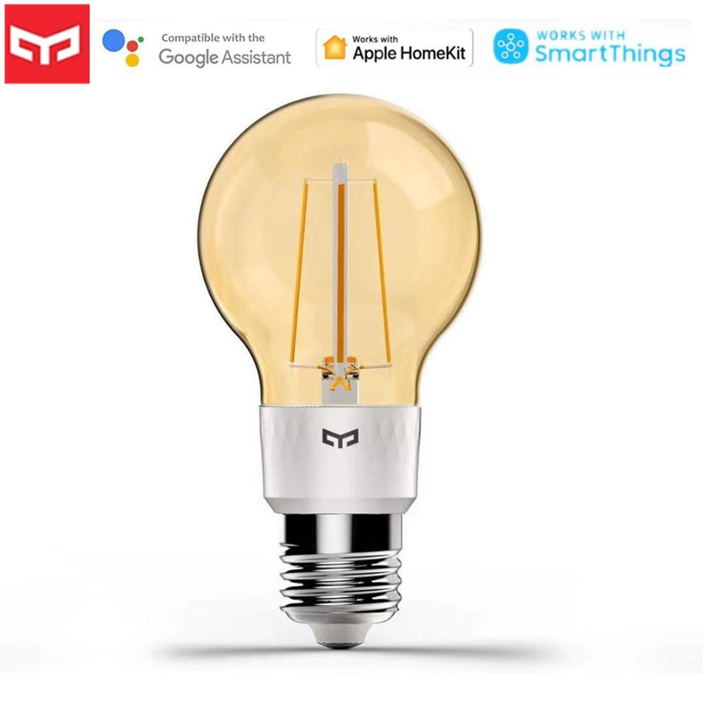Yeelight-لمبة خيوط LED ذكية ، E27 ، 6W ، جهاز تحكم عن بعد WiFi ، يعمل مع تطبيق الهاتف المحمول ، Homekit ، 2020