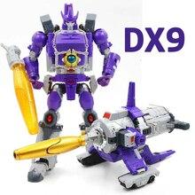 Robot de Transformation DX9 D07 Galvatron dévastateur brillant arme tyran gros canon Mp alliage figurine modèle jouets