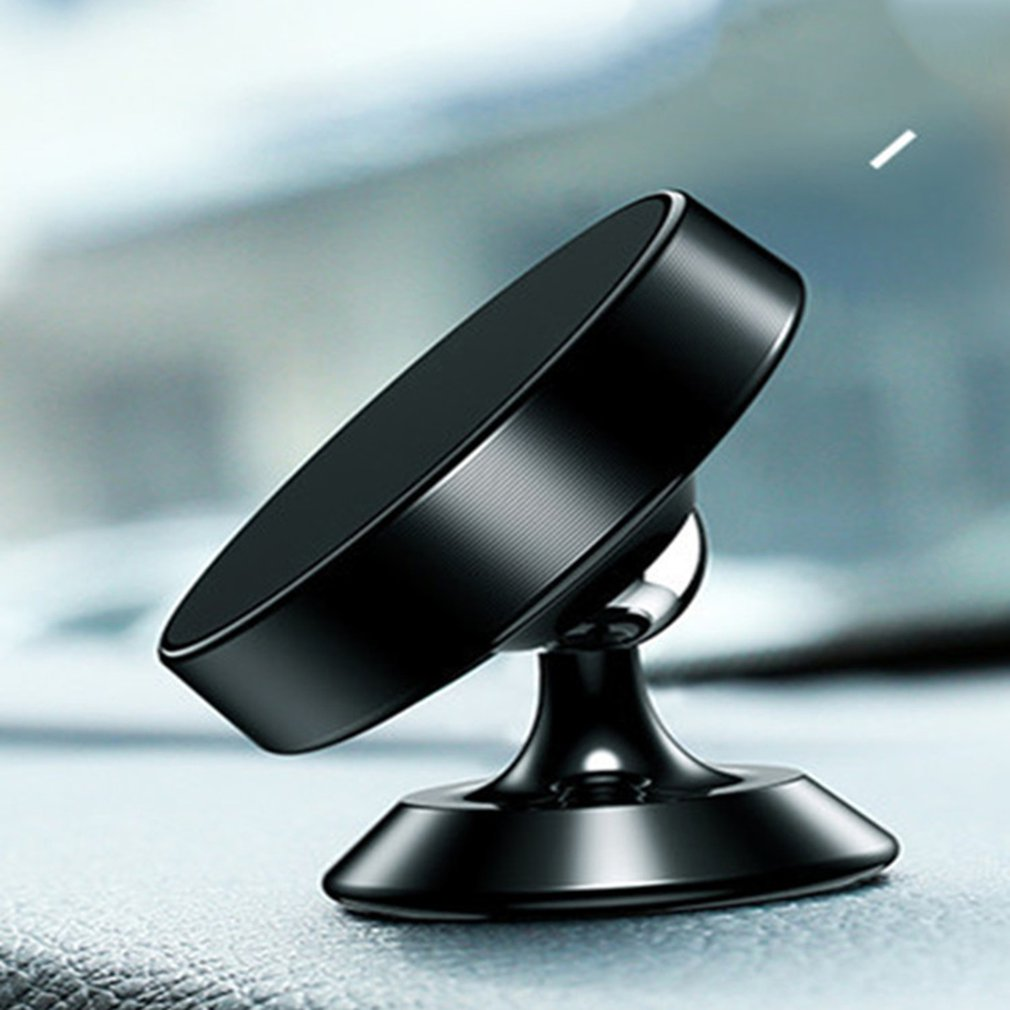 Phone Holder 360 Degree Rotatory Magnet Stand Support Cellphone Bracket Car Vehicle Mobile Phone Accessories Universal LESHP ABS
