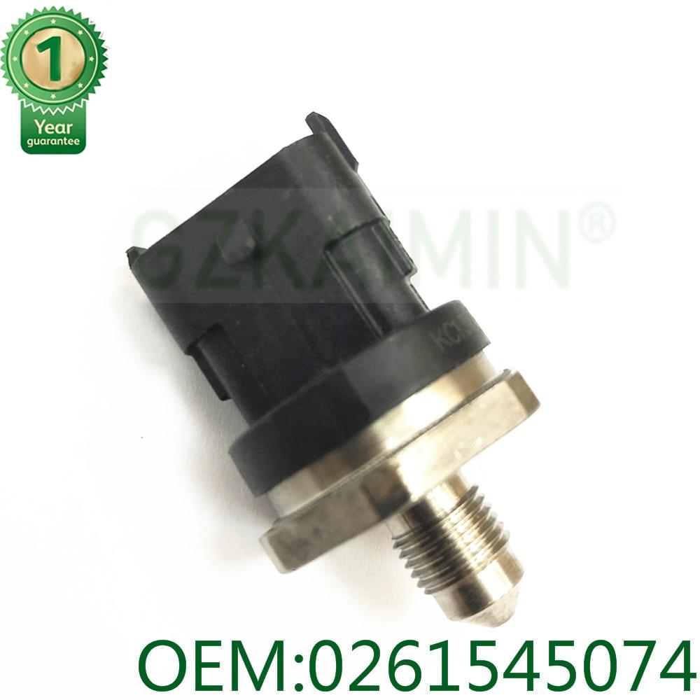 Alta calidad Sensor de presión de riel de combustible para Mazda L807-18-211 Holden OEM 0261545074 a 0261545053, 0261545006