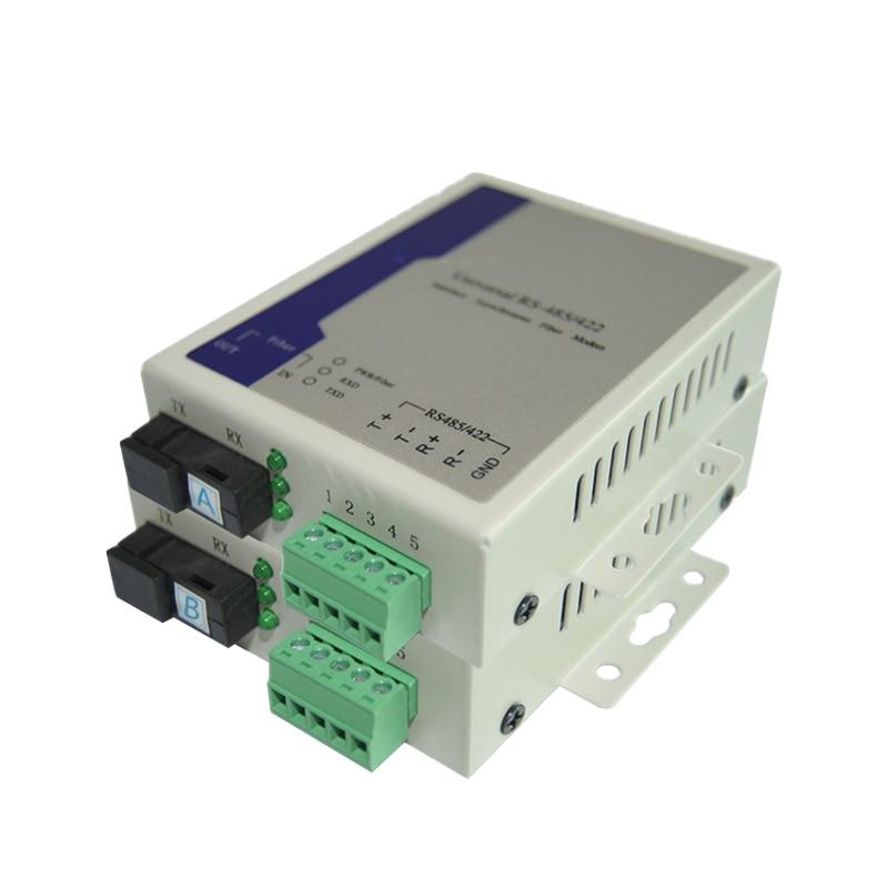 1 Pair 1 Channel RS485 Bidirectional Data Optic Converter enlarge