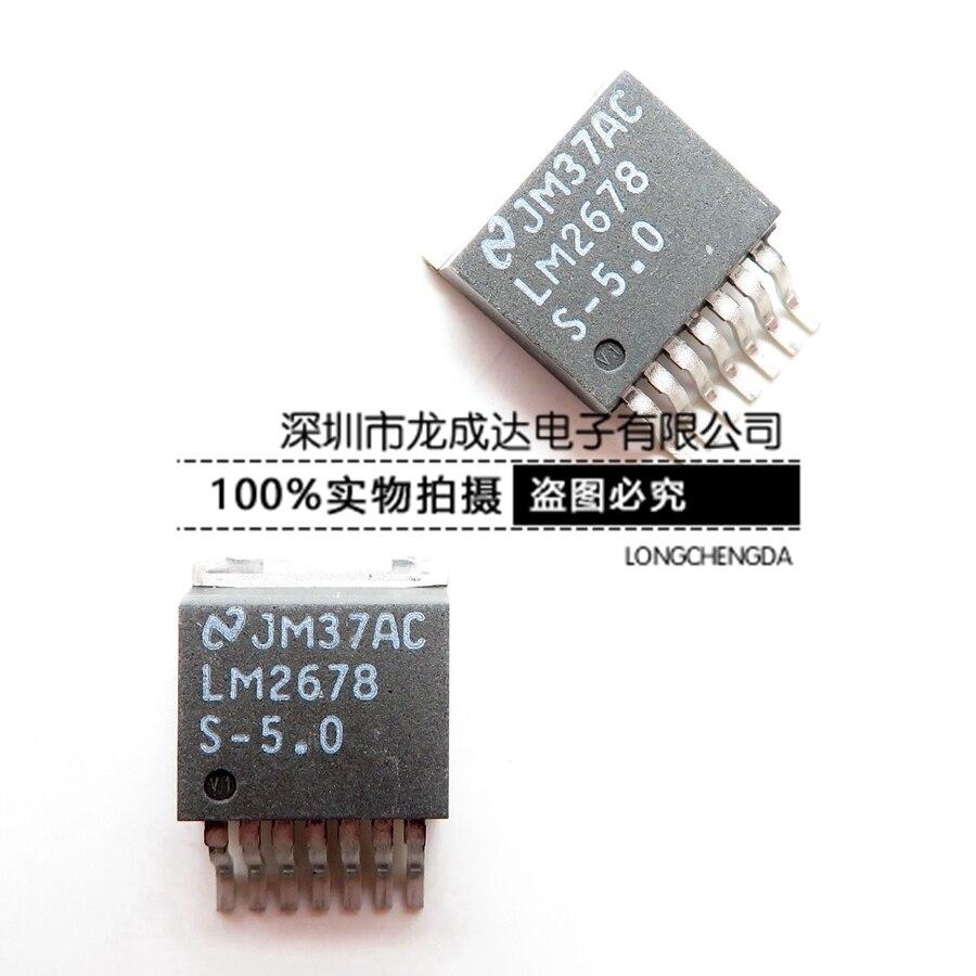 100% novo & original LM2678S-5.0 LM2678SX-5.0 TO263-7 em estoque