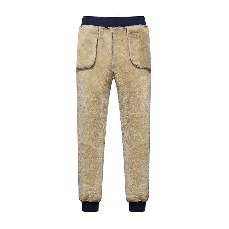 Плотные длинные брюки для мужчин, мужские брюки, мужские зимние брюки, теплые кашемировые классические Супер уличные мужские брюки, брендов...