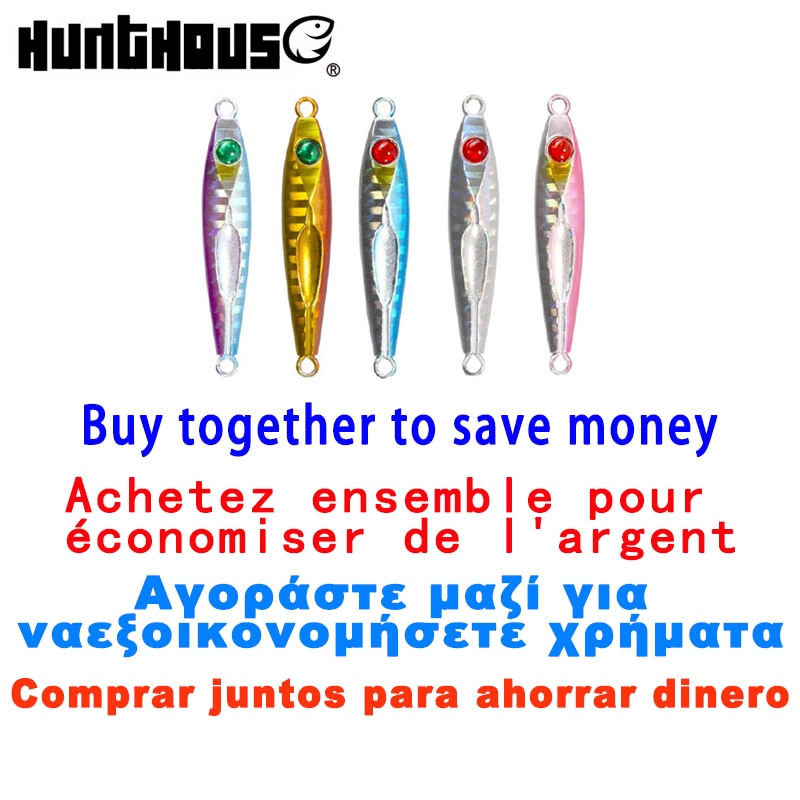 save money Combined sale metal spoon jig 3g 5g 7g 12g HuntHouse fishing lure jack eye finder alipress fishing store lw809