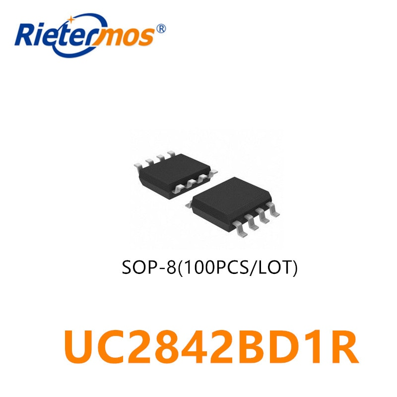 100PCS UC2842BD1R 2842B  SOP8 ORIGINAL