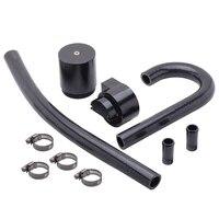 high performance black aluminum alloy reservior oil catch can tank for bmw n54 335i 135i e90 e92 e82 2006 2010