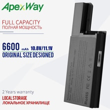 6600mAh 11.1v Batterie pour Dell D531 D820 D830 312-0538 451-10308 451-10326 451-10327 CF623 CF704 CF711 DF192 DF230 DF249 FF231