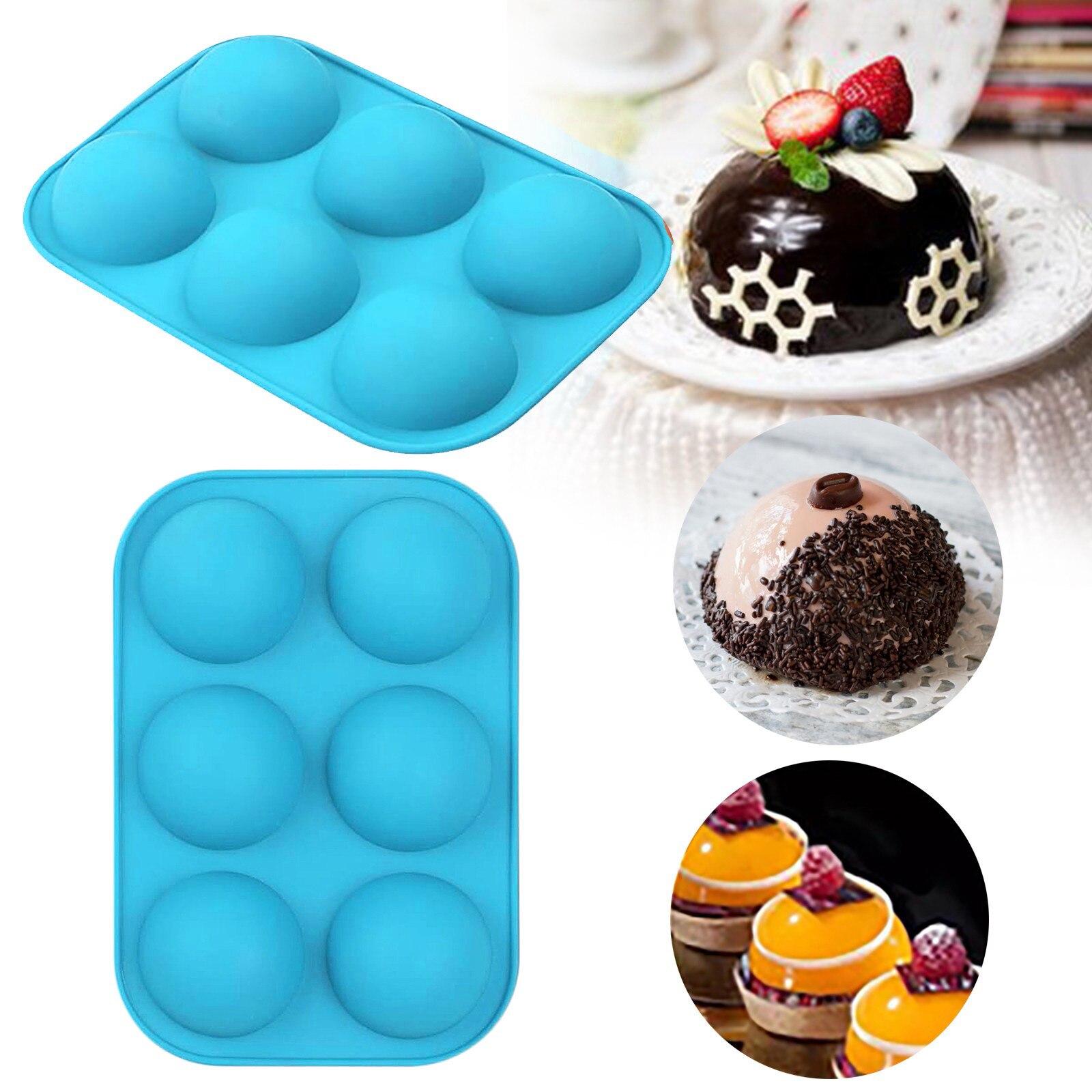 Кухонный инструмент «сделай сам», полусферическая силиконовая форма для выпечки, 3D форма для выпечки, форма для шоколада, полушариков, форм...