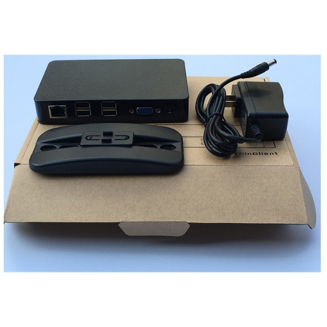 1PC Newest Updated Version ST100 Client Net Computer PC Station TS660 Win CE 6.0 Embedded Server OS for win xp/2000/2003/7/vista 2