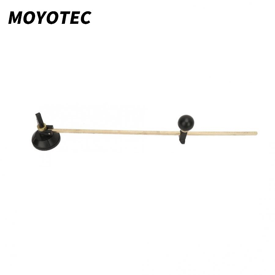 MOYOTEC New Glass Cutter 6 Wheel Compasses Circular Cutting Cutter with Ball Controller Suction Cup Circle Glass Cutter недорого
