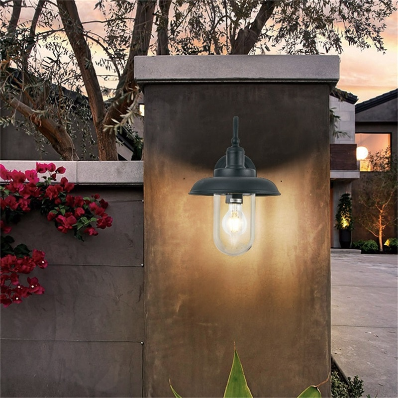 WPD Retro Outdoor Wall Lamps Classical LED Lighting Waterproof IP65 Sconces For Home Porch Villa enlarge