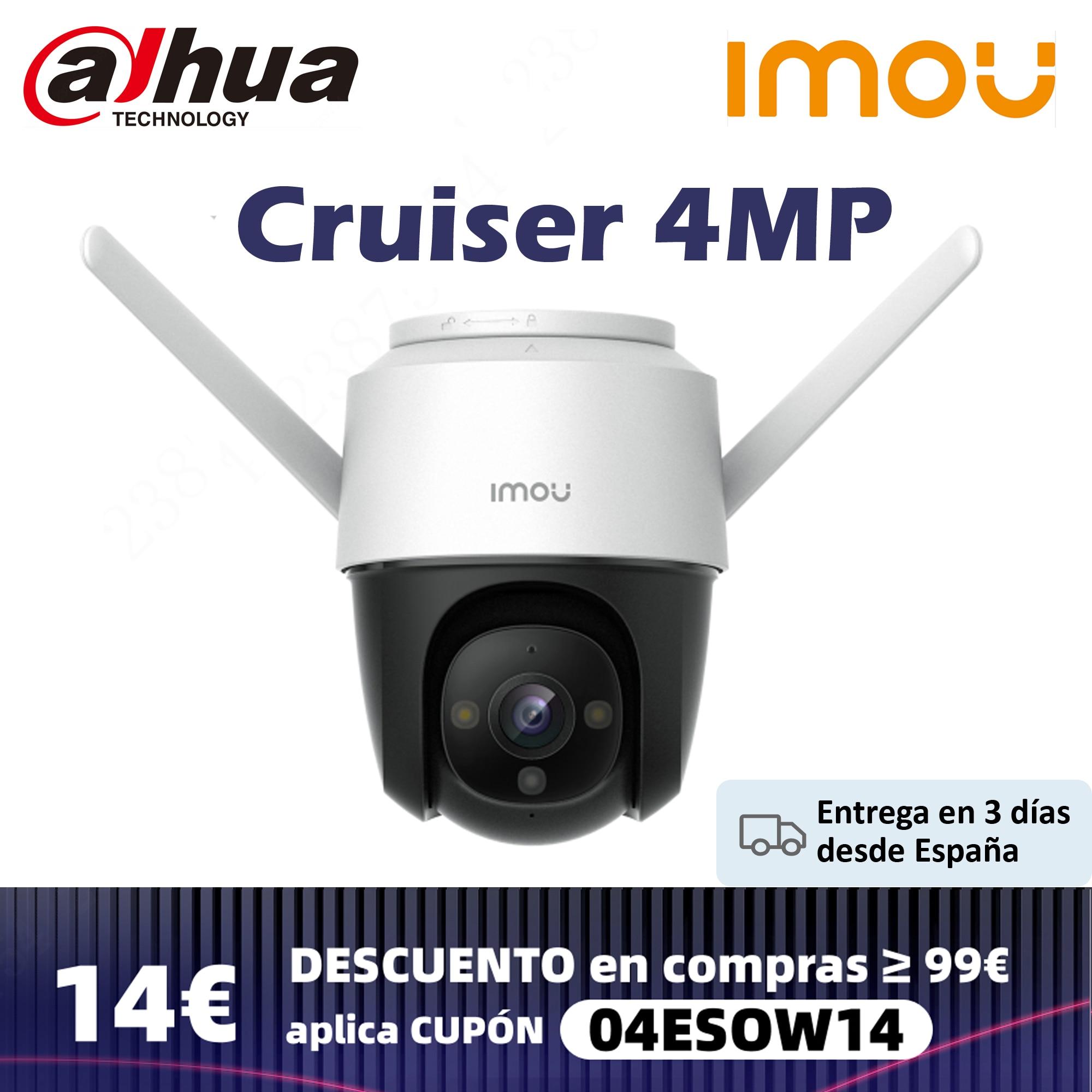 Dahua Imou Cruiser 4MP Full Color Wi-Fi Camera H.265 PTZ Outdoor IP66 Weatherproof Audio Record Nigh