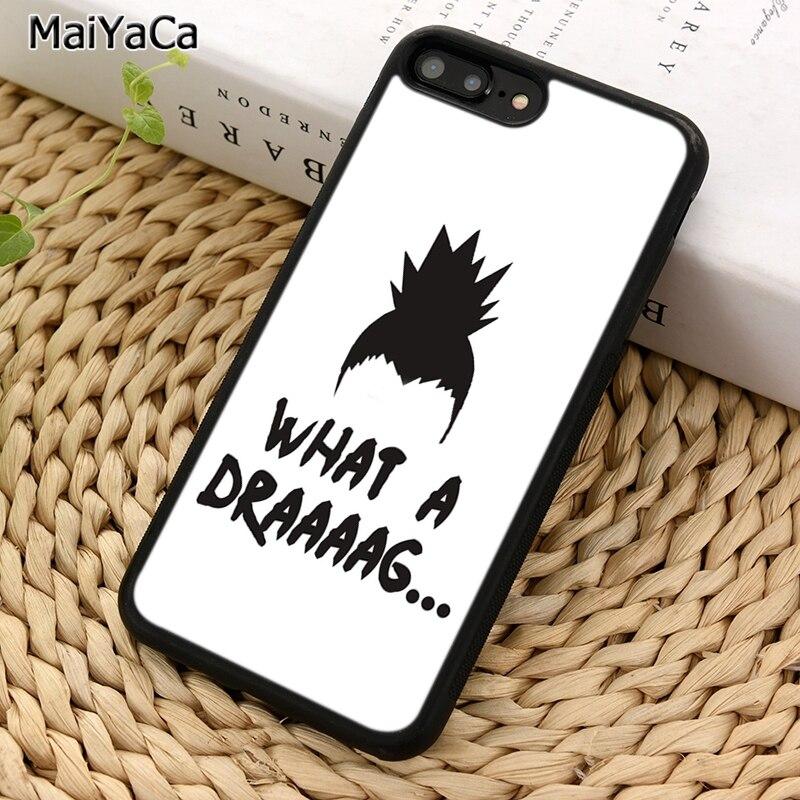 MaiYaCa Shikamaru Nara un arrastre de la caja del teléfono para iPhone 5 5 5 6 6 7 8 plus 11 Pro X XR XS Max Samsung Galaxy S7 S8 S9 S10