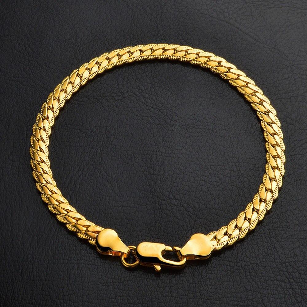 Hermosa pulsera elegante para hombre y mujer, brazalete de serpiente con personalidad de alta calidad, joyería clásica de Hip Hop