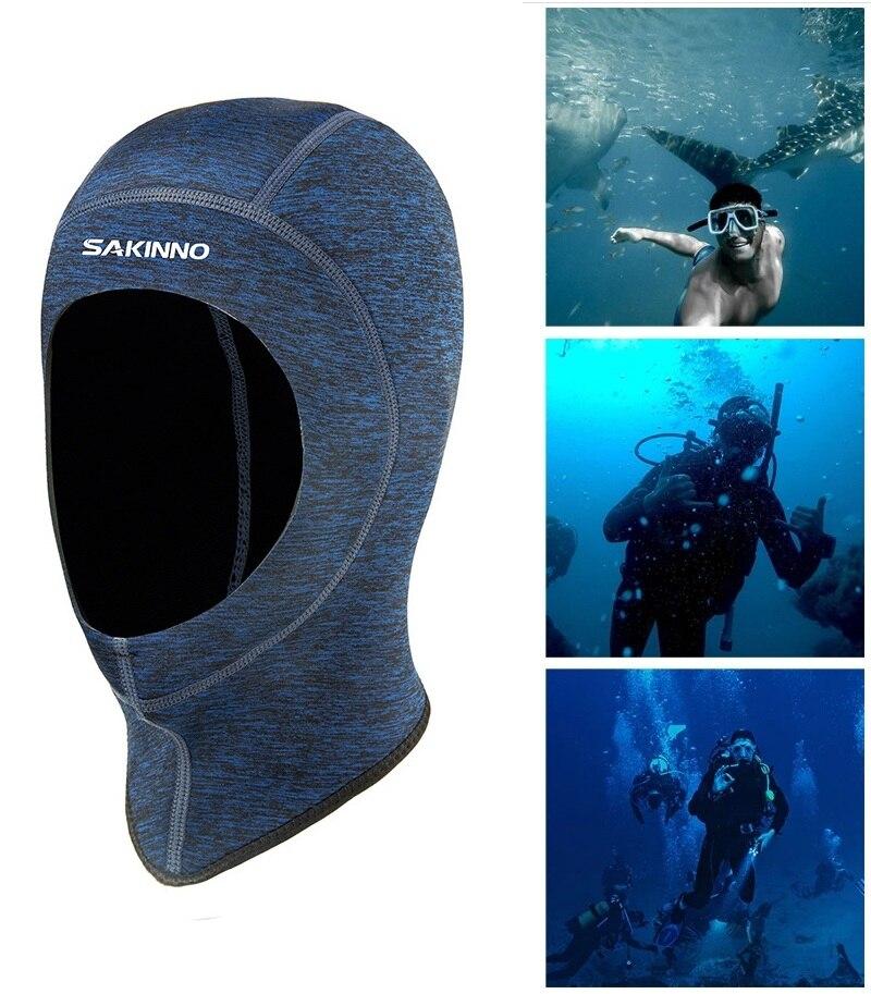 Шапка для подводного плавания, головной убор, Спортивная мужская водонепроницаемая шапка для дайвинга и рыбалки, Солнцезащитная быстросох...