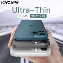 Ультратонкий матовый чехол для телефона iPhone 12, 11 Pro Max, X, XR, XS Max, 7, 6, 6s, 8 Plus, SE, полноразмерный ударопрочный матовый чехол с линзами 2020