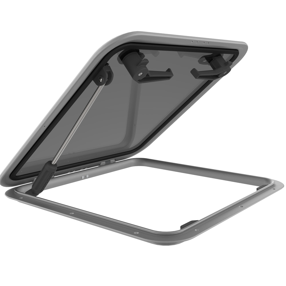 MARINE PARTS LEWMAR Low Profile Hatch, Size 30, 397x527mm, With Stay NEW