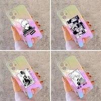 my hero academia bakugou boku phone case for iphone huawei honor 7 8 9 11 12 20 30 s x xs xr mini pro max plus laser transparent