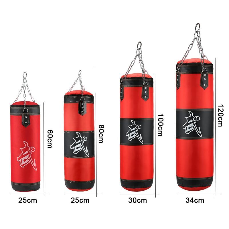 AliExpress - Empty Boxing Sandbag Home Fitness Hook Hanging Kick Punching Bag Boxing Training Fight Karate Punch Muay Thai Sand Bag boxe