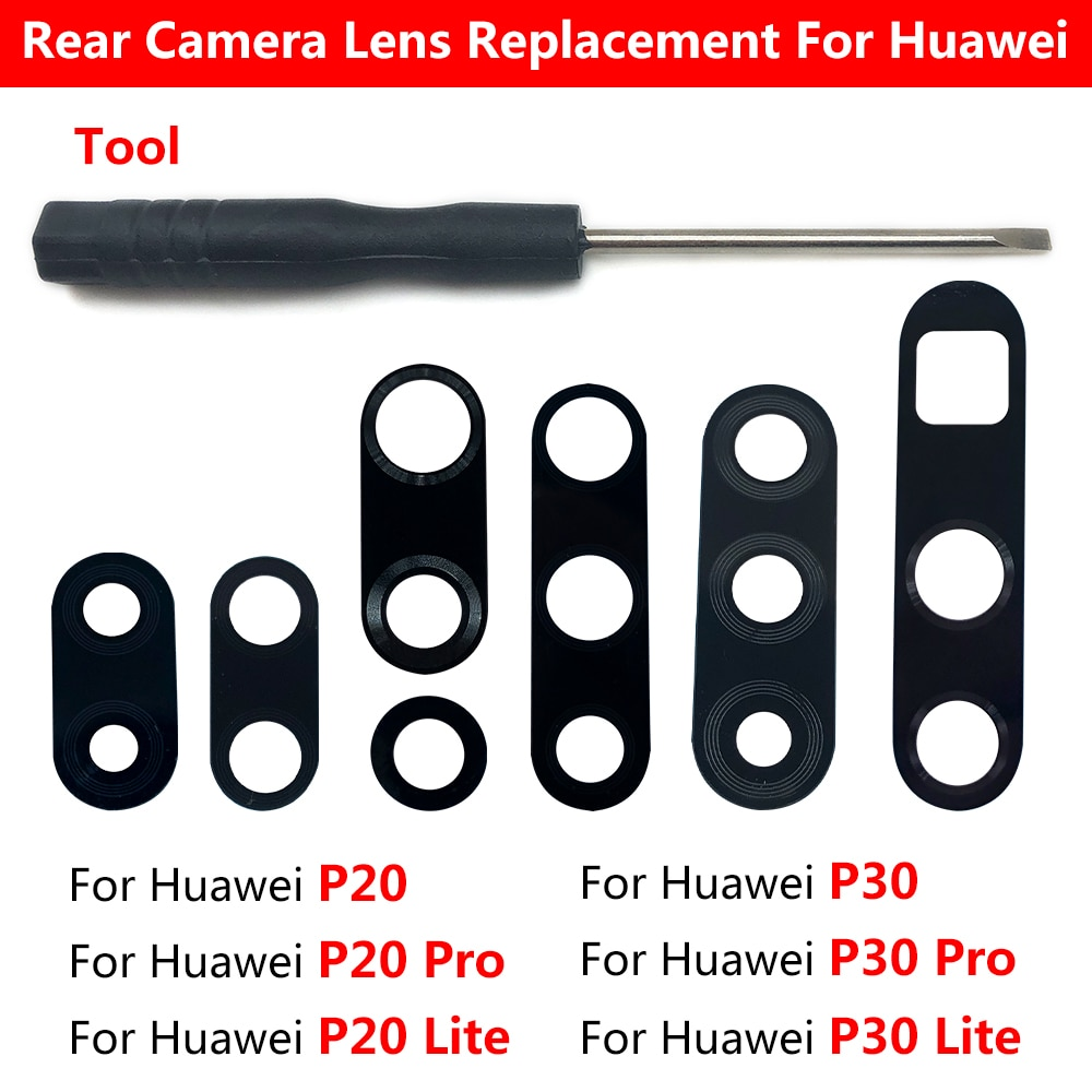 2 шт., Объективы для камеры Huawei P30 P20 Pro P40 Lite E Y9S Y8S Y8P Y7P