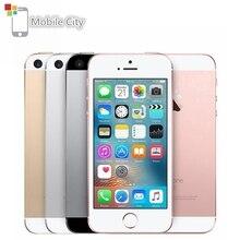 "Apple original iphone se duplo-núcleo 4g lte smartphone 12mp 4 ""ios 2 gb ram 16/64 gb rom impressão digital touch id desbloqueado telefone móvel"