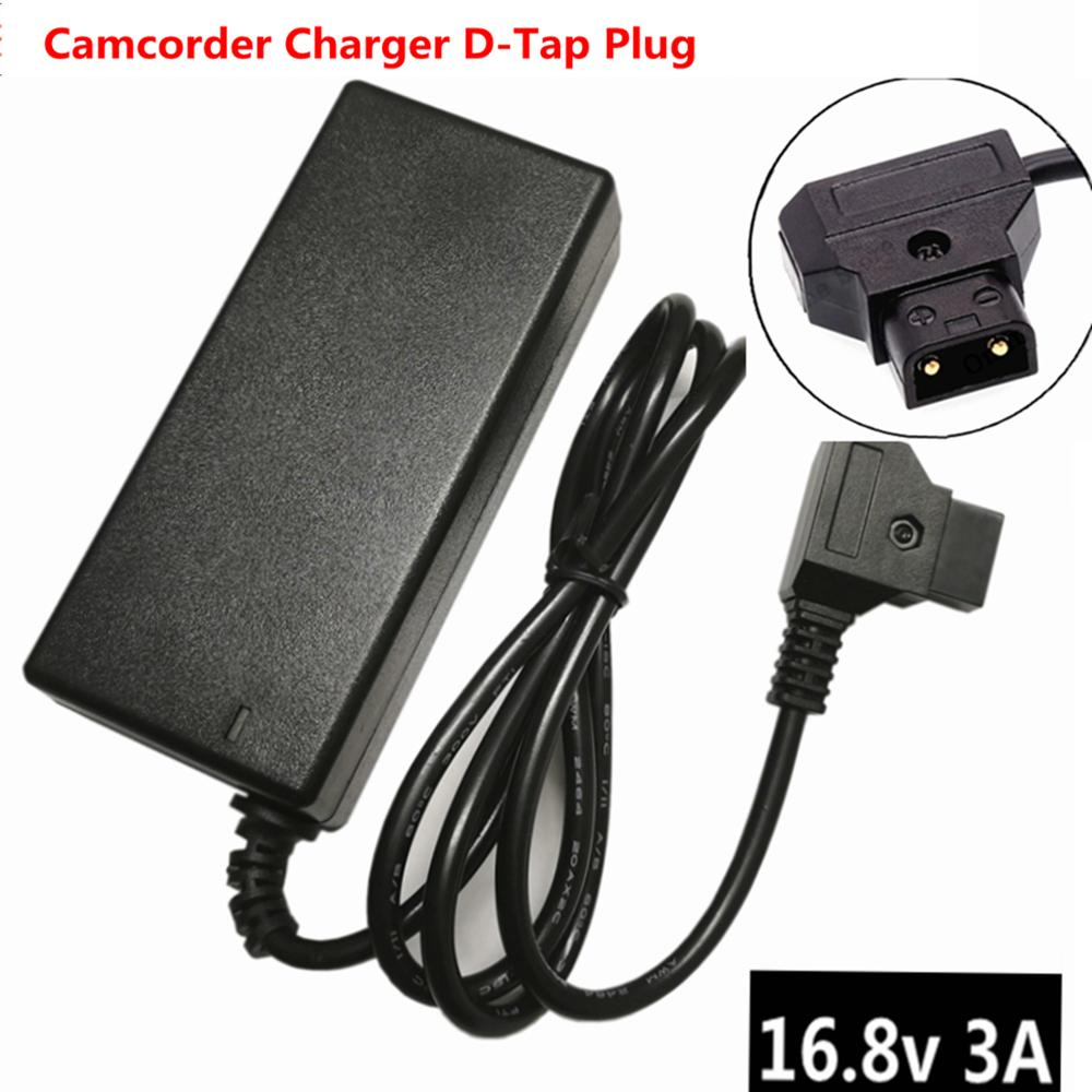 16,8 V 3A D-Tap зарядное устройство для Sony Camcorder V Mount / V Lock батарейный блок для камеры адаптер питания для видеокамеры dtap Plug